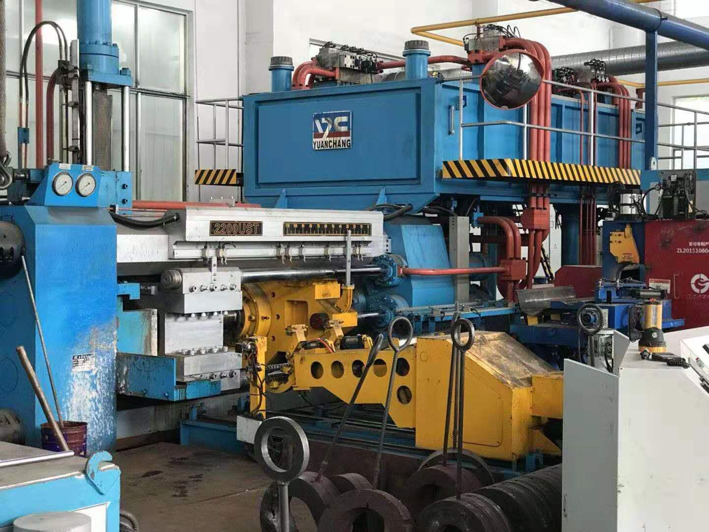 航空铝材挤压设备Aviation aluminum extrusion equipment
